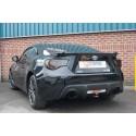 Tube intermédiaire + Silencieux arrière Scorpion Subaru BRZ 2.0 16v 200cv 2012 - Aujourd'hui Sortie Black ceramic