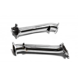 Downpipe suppression catalyseur Inox Armytrix Nissan GT-R R35 3.8 V6 Bi-Turbo 2007 - Aujourd'hui
