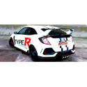 Silencieux arrière Groupe A Honda Civic TYPE R (FK8) 320CV 2017 - AUJOURD'HUI