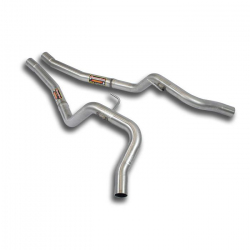 Tube intermédiaire (Droite/Gauche) en INOX Jaguar XJ8 4.0L V8 (294Cv/219Kw) 1998 - 2002