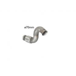 Tube antérieur avec flexible en inox Peugeot RCZ 1.6 Turbo (147kW/200CV) 2010 - 2015