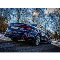 Ligne d'échappement Sport en Inox Audi A5 B9 (F5/B8) Sportback 40 TFSI (190cv/140kw) 10/2018 - 06/2020