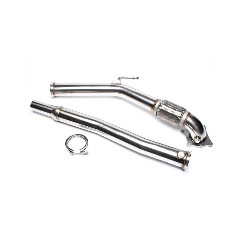 Downpipe Tube suppression catalyseur Audi A3 1.8 TFSi 160cv 2003 - 2012 TA-Technix
