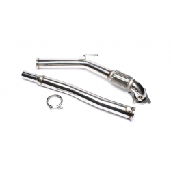 Downpipe Tube suppression catalyseur Audi A3 2.0 TFSi 200cv 2003 - 2012 TA-Technix