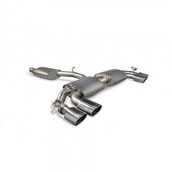 Ligne d'échappement avec valve Scorpion Audi TTS 2.0 TFSi Quattro (310 cv) 2014 - Aujourd'hui