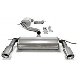 Ligne d'échappement Duplex TA-Technix en inox Volkswagen Golf V MK5 (Typ 1K) 2.0 TFSi 200cv 2003 - 2008