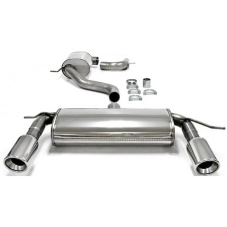 Ligne d'échappement Duplex TA-Technix en inox Volkswagen Golf V MK5 (Typ 1K) 2.0 GTi 230cv 2003 - 2008