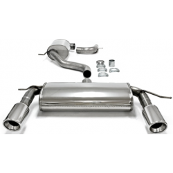 Ligne d'échappement Duplex TA-Technix en inox Volkswagen Golf VI MK6 (Typ 5K) 2.0 GTi 235cv 2008 - 2014