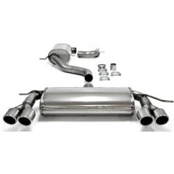 Ligne d'échappement Duplex cat Back TA-Technix en inox Audi A3 (Typ 8P) 2.0 TFSi 200cv 2007 - 2012